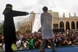 100 Lashes for Gay Sex in Aceh, Indonesia