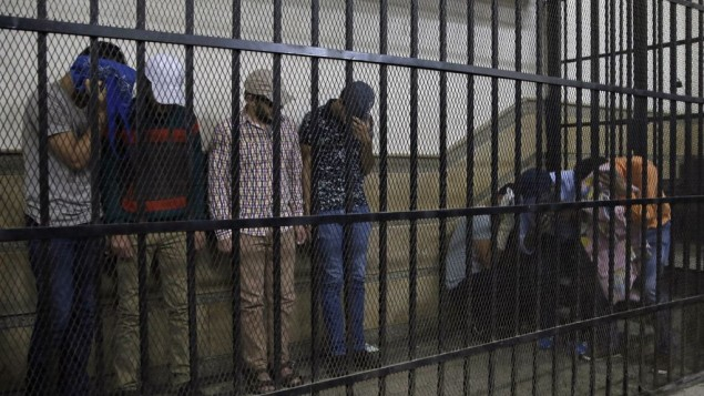 26 men arrested in a public bathhouse raid is acquitted in Egypt
