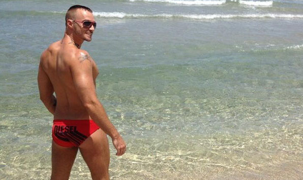 Gay Porn Actor Called 'Queer', Threatened With Arrest for Wearing Speedo