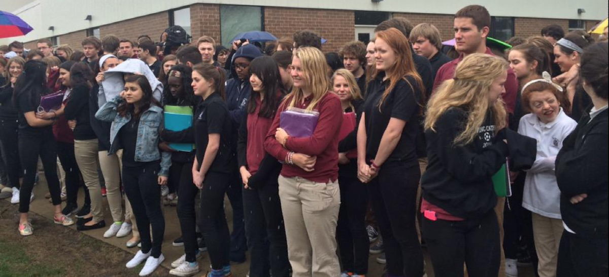 Hundreds Of Students Walk Out To Protest Catholic School Refusal To Hire Gay Teacher