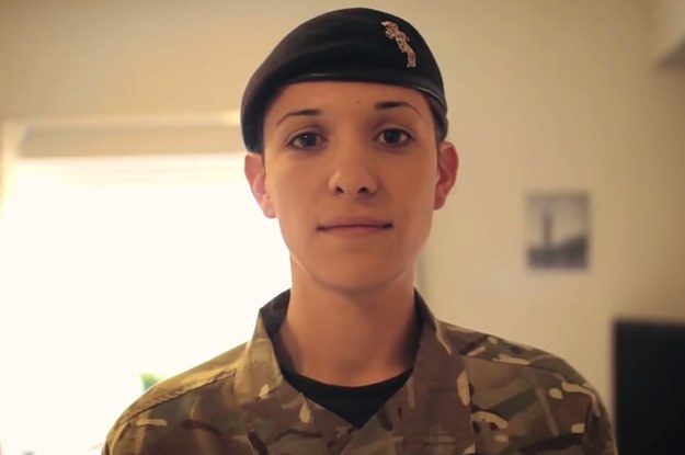 Meet Hannah Winterbourne, of the Royal Electrical Mechanical Engineers. She is the first transgender officer in the British army.