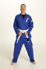 Navy Blue Jiu Jitsu Gi For Hot Weather Training | BRAVO