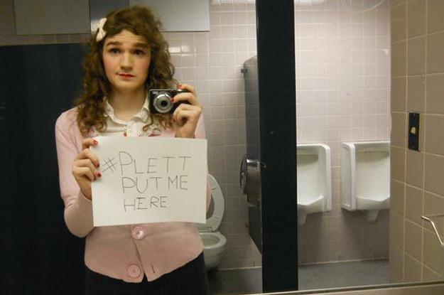 Trans People Are Protesting Discriminatory Bathroom Laws On Social Media LG